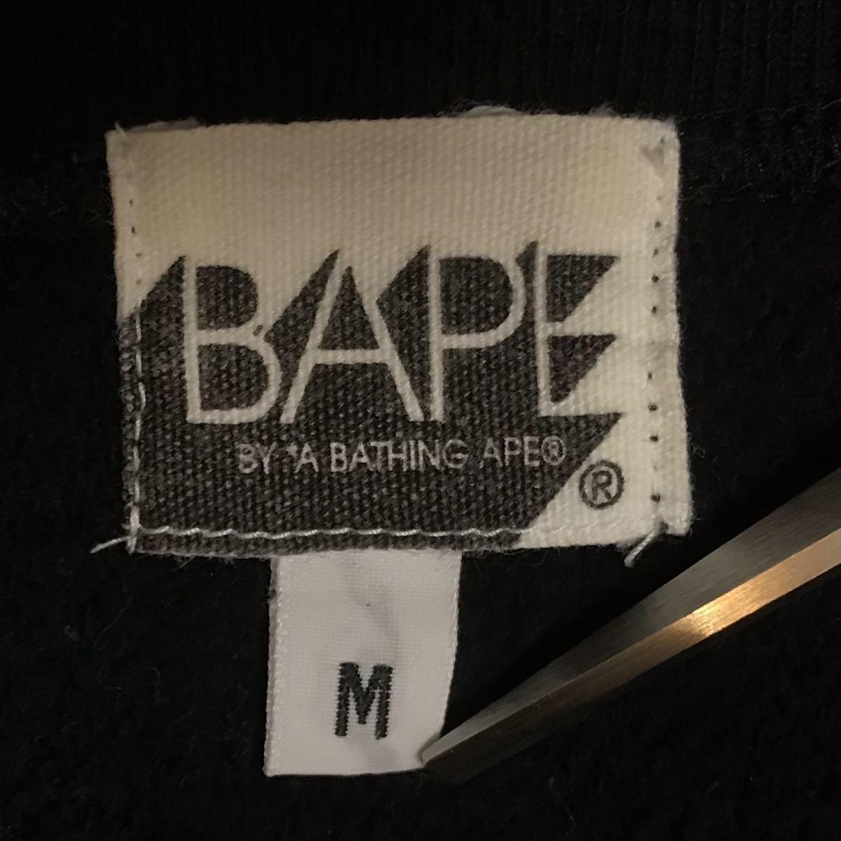 ★レア★ KISS logo 長袖スウェット Mサイズ a bathing ape bape エイプ ベイプ アベイシングエイプ nigo black 1336