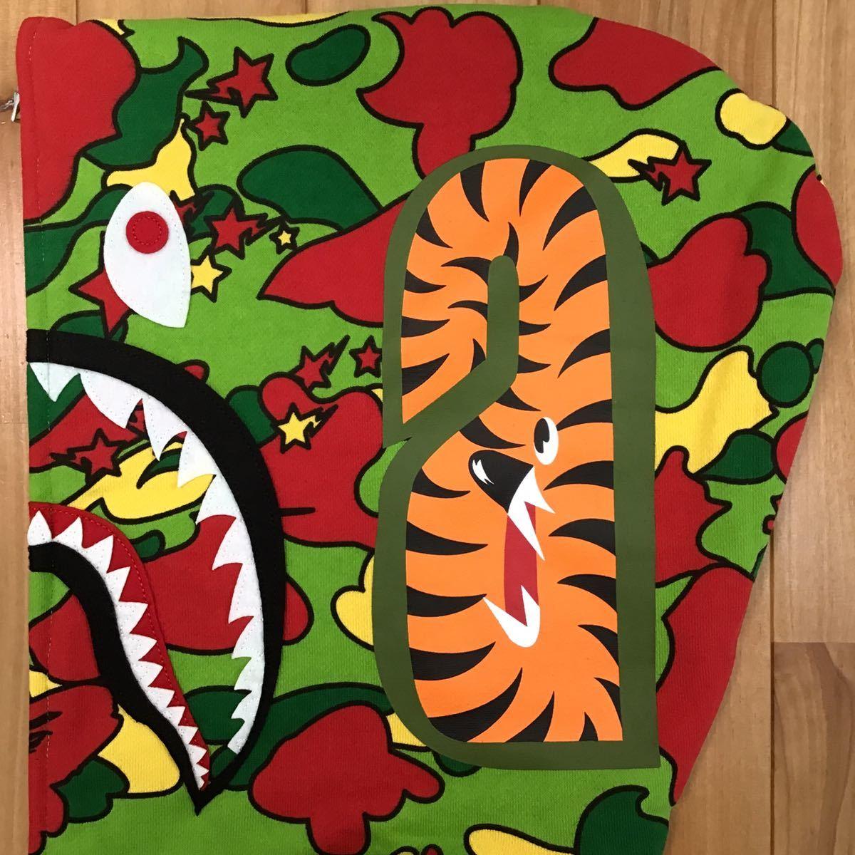 ★新品★ Psyche camo シャーク パーカー Mサイズ shark full zip hoodie a bathing ape bape エイプ ベイプ sta camo 迷彩 570