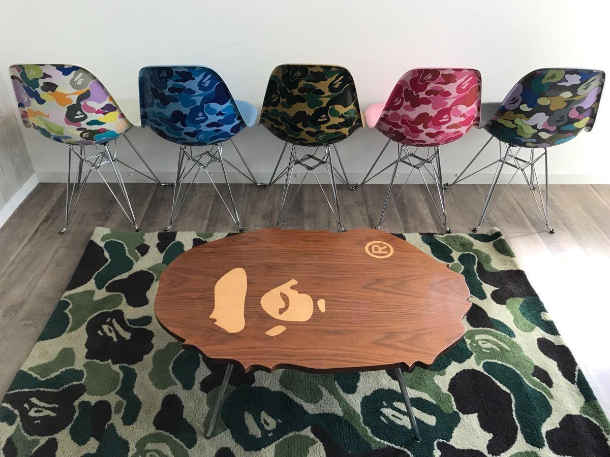 MODERNICA × APE HEAD COFFEE TABLE a bathing ape モダニカ エイプ ベイプ CASE STUDY SHOP テーブル アベイシングエイプ furniture bape
