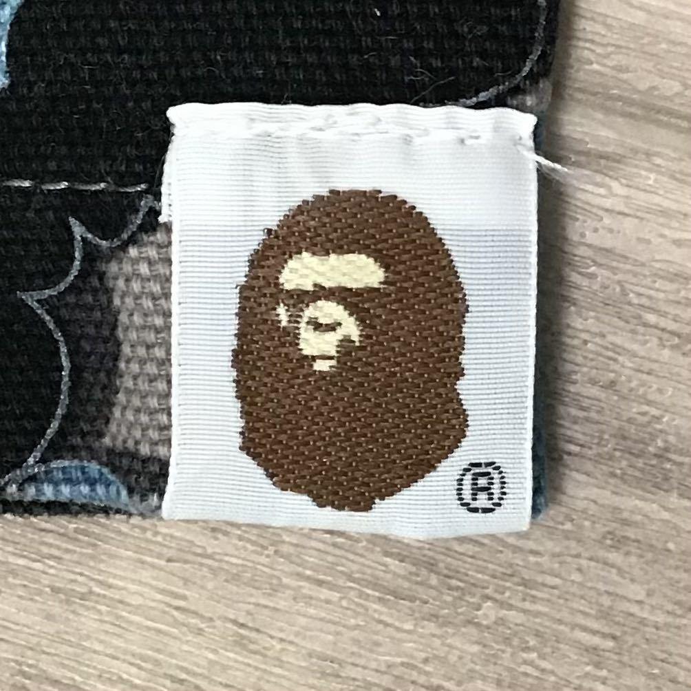 ★激レア★ kaws cloud camo ワークシャツ Lサイズ a bathing ape bape カウズ エイプ ベイプ アベイシングエイプ nigo 迷彩 vintage e85