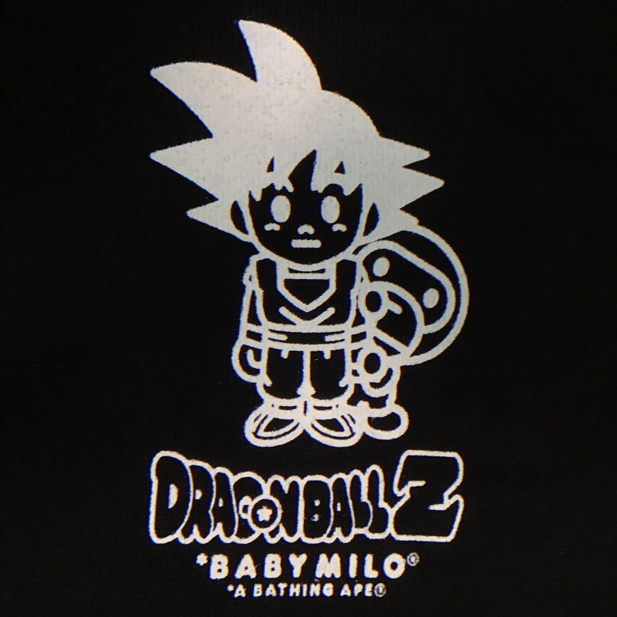 ★激レア★ ドラゴンボール Z × BAPE 長袖スウェット Sサイズ dragonball Z a bathing ape baby milo マイロ エイプ ベイプ 悟空 9085
