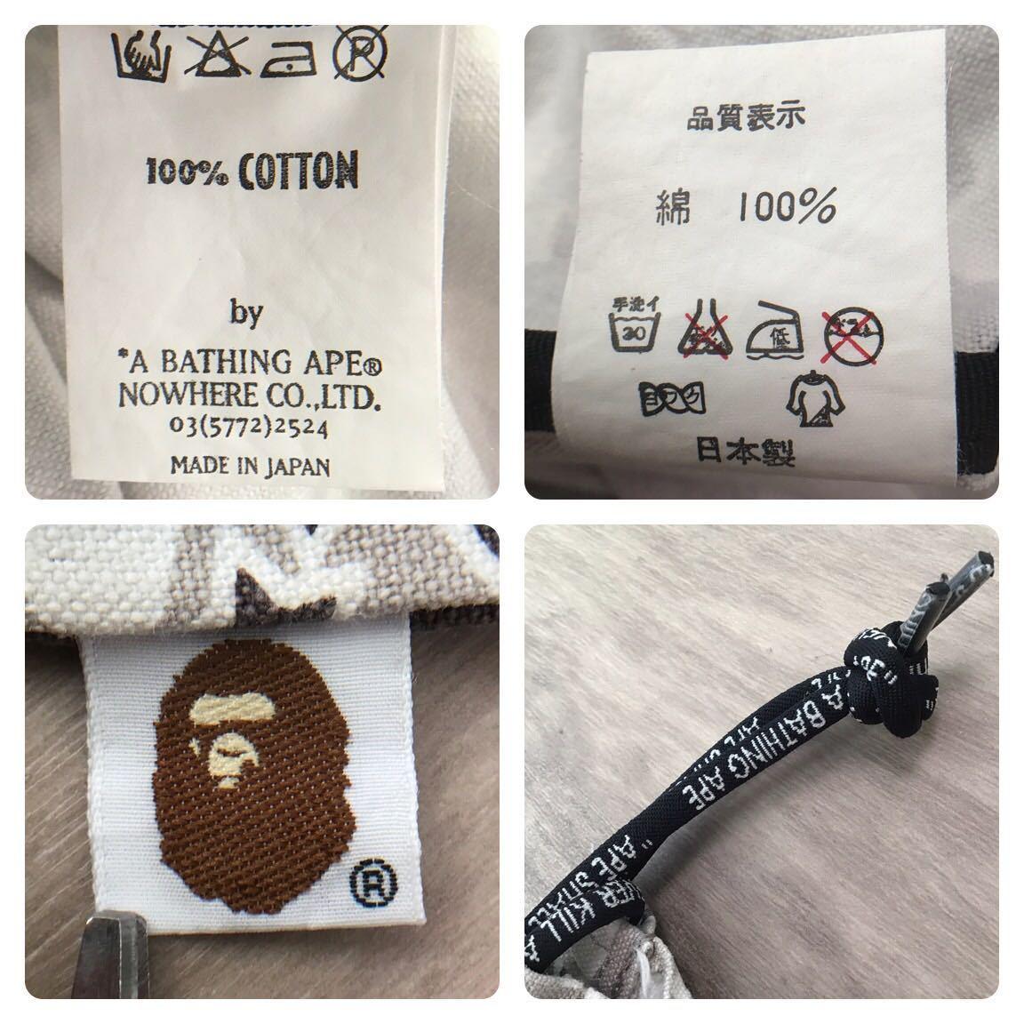 sta camo 巾着袋 a bathing ape bape foot soldier バッグ bag エイプ ベイプ フットソルジャー psyche camo 迷彩 nigo 7541