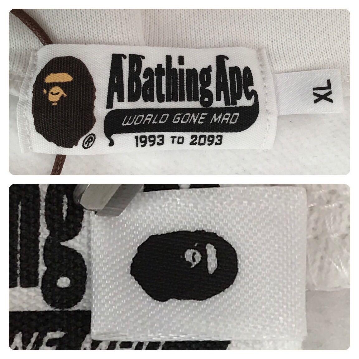 ★新品★ Warm up camo シャーク パーカー XLサイズ a bathing ape BAPE shark full zip hoodie エイプ ベイプ アベイシングエイプ 迷彩 32