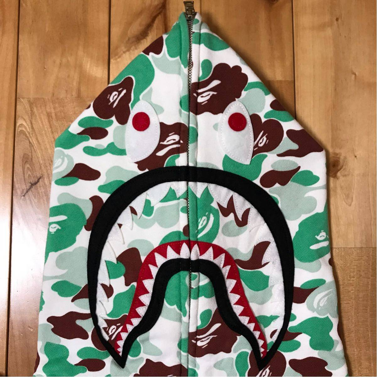 ★仙台限定★ sendai store limited color camo シャーク パーカー L a bathing ape bape shark full zip hoodie エイプ ベイプ 都市限定