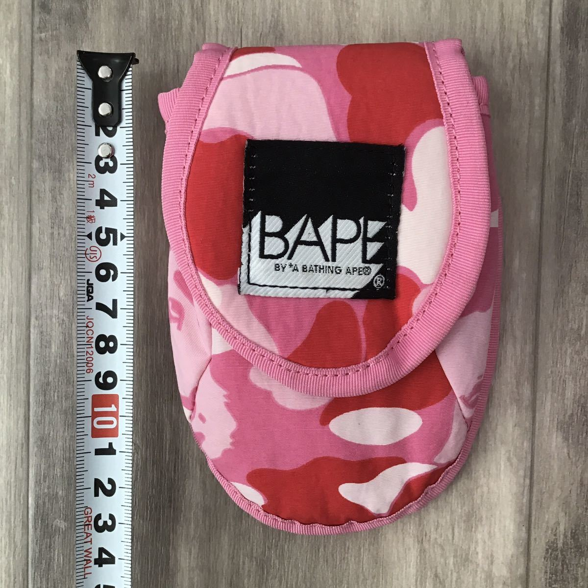 ABC camo pink ポーチ a bathing ape BAPE エイプ ベイプ アベイシングエイプ ABCカモ ピンク 迷彩 ウエスト ポーチ