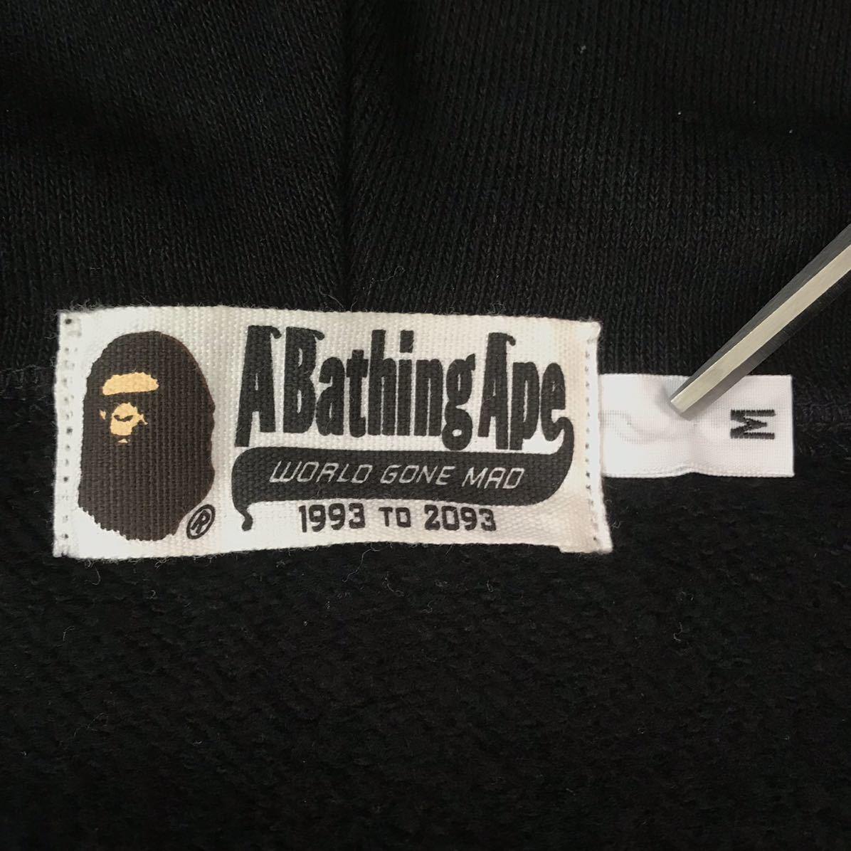 シャーク パーカー ベスト Mサイズ shark full zip hoodie vest a bathing ape BAPE エイプ ベイプ アベイシングエイプ PONR 3693