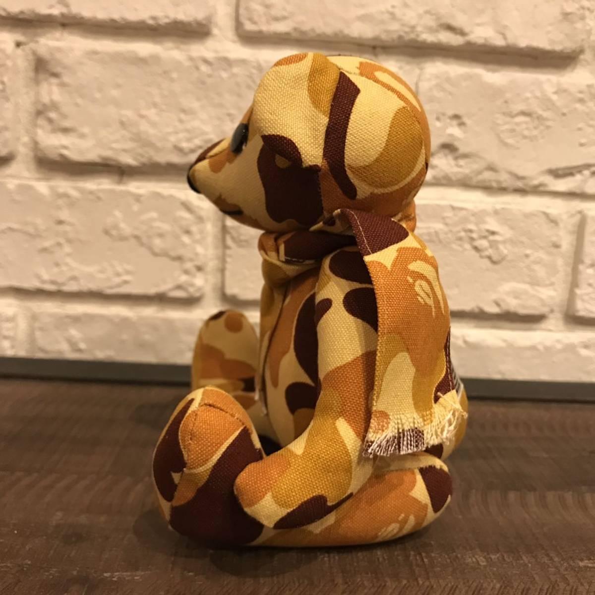 ★非売品★ 100体限定 BAPE camo Teddy bear a bathing ape doll エイプ ベイプ アベイシングエイプ nigo テディベア ぬいぐるみ 当選品