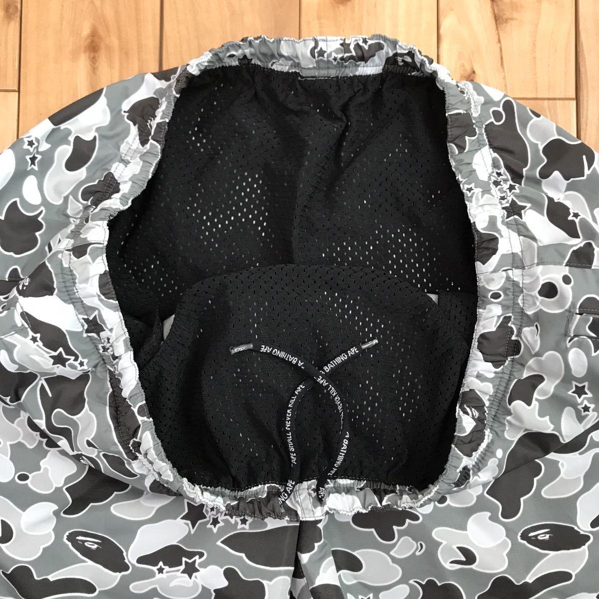 ★新品★ 初期 sta camo ハーフパンツ swim shorts XLサイズ a bathing ape BAPE 水着 エイプ ベイプ ショーツ 迷彩 psyche サイケカモ 523