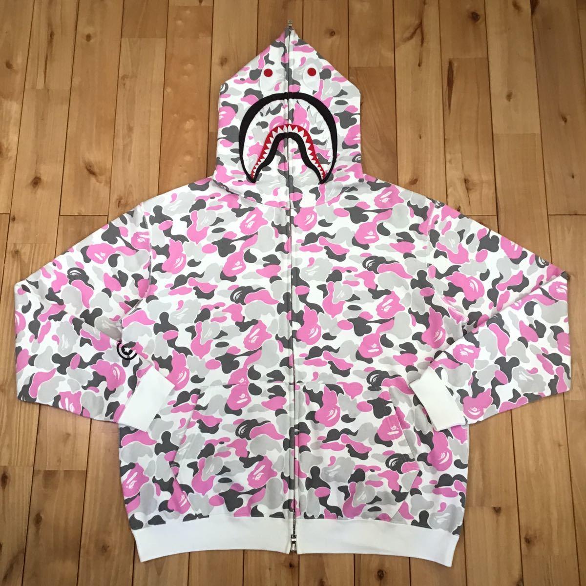 ★金沢限定★ kanazawa city camo シャーク パーカー Lサイズ shark full zip hoodie a bathing ape BAPE エイプ ベイプ 都市限定 迷彩 331