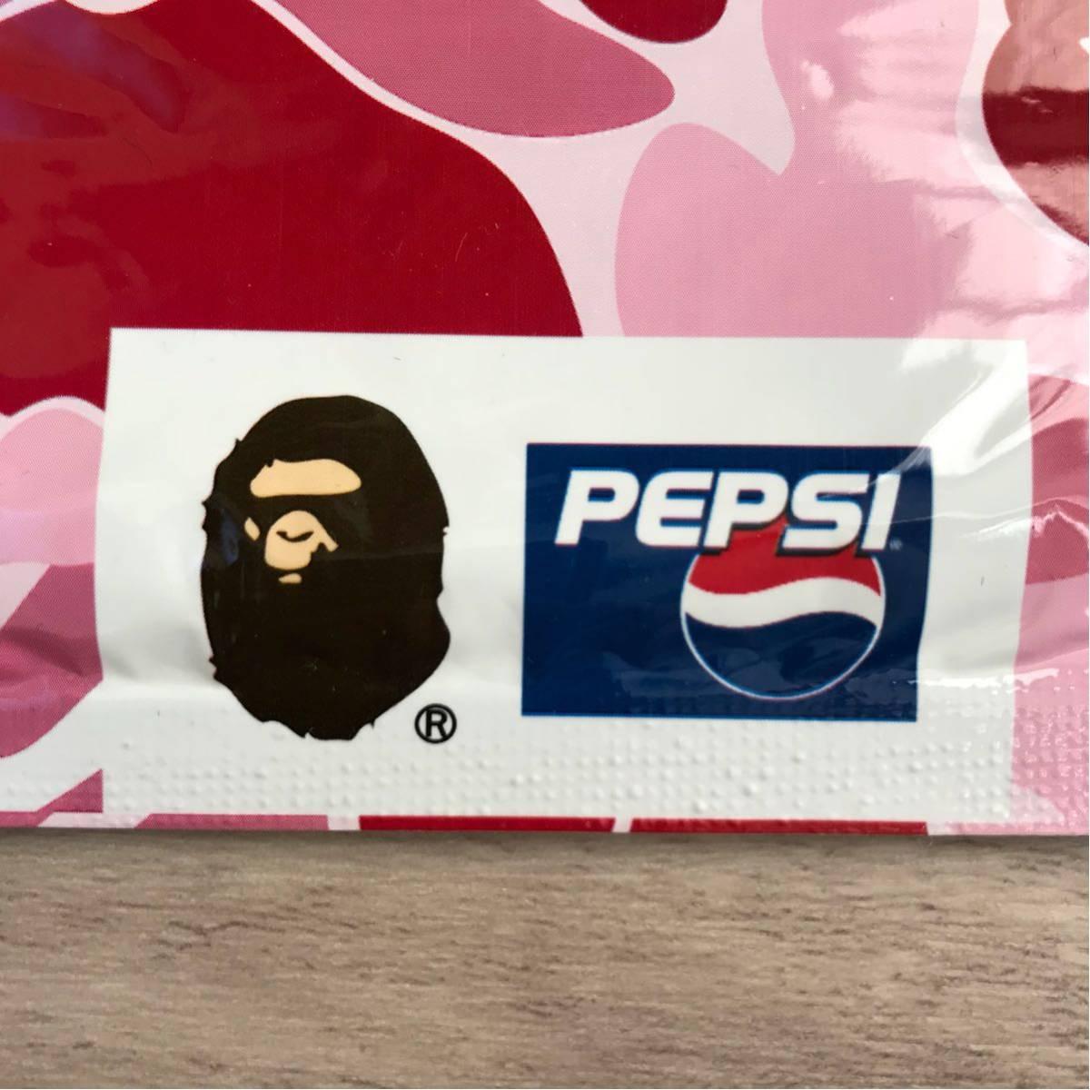 ★新品★ ape×pepsi バンダナ ape bape pepsi ペプシ コーラ ABCカモ エイプ ベイプ アベイシングエイプ a bathing ape ハンカチ タオル