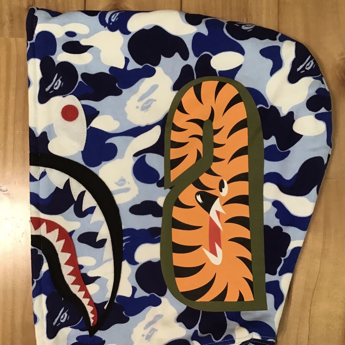 ★名古屋限定★ nagoya city camo シャーク パーカー レディース Sサイズ shark full zip hoodie a bathing ape BAPE エイプ ベイプ ladies