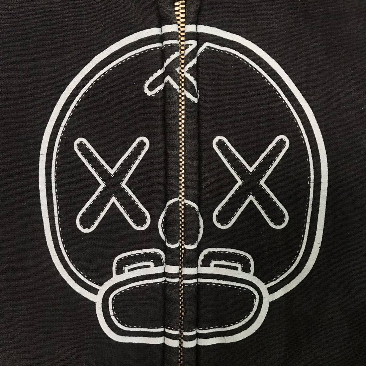 kaws × BAPE パーカー KIDS 110サイズ カウズ a bathing ape milo zip hoodie エイプ ベイプ アベイシングエイプ キッズ navy