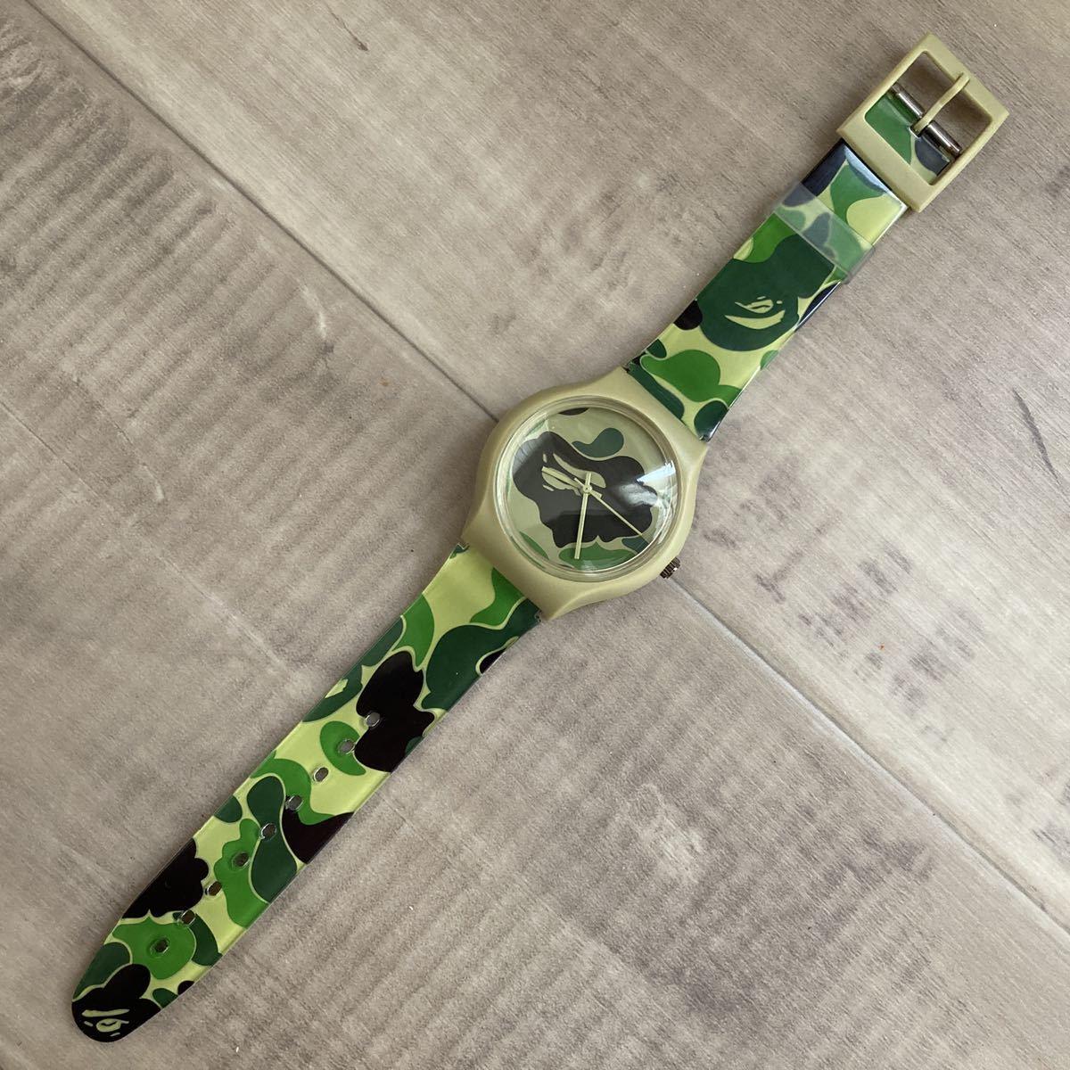 ★新品★ bape camo watch 腕時計 a bathing ape エイプ ベイプ アベイシングエイプ mook limited 迷彩 15da