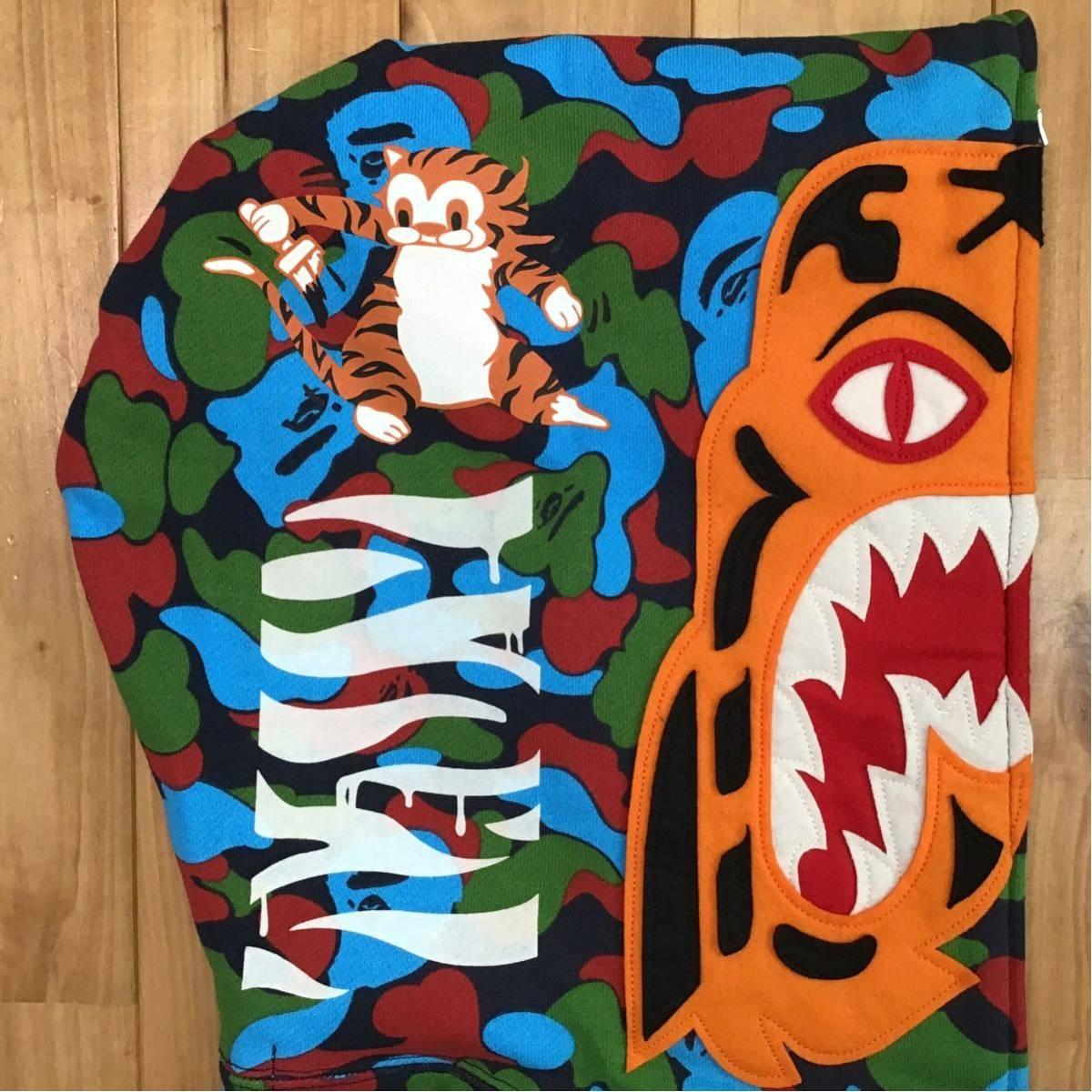 ★シンガポール限定★ Singapore city camo タイガー パーカー Mサイズ a bathing ape bape tiger full zip hoodie エイプ ベイプ 迷彩 d21