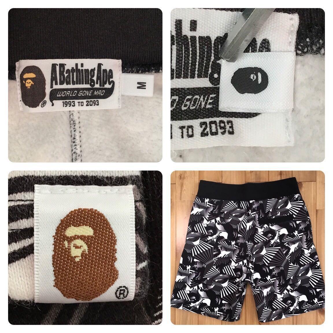 ダズルカモ スウェット ハーフパンツ Mサイズ a bathing ape bape camo sweat shorts ショーツ エイプ ベイプ アベイシングエイプ 迷彩 o85