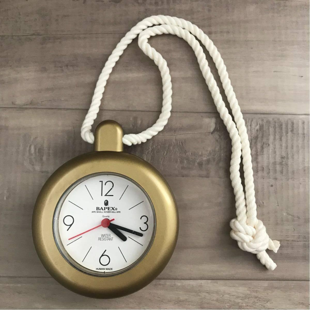 ★激レア★ BAPEX シャワークロック 時計 a bathing ape bape watches アクセサリー エイプ ベイプ アベイシングエイプ グッズ クロック