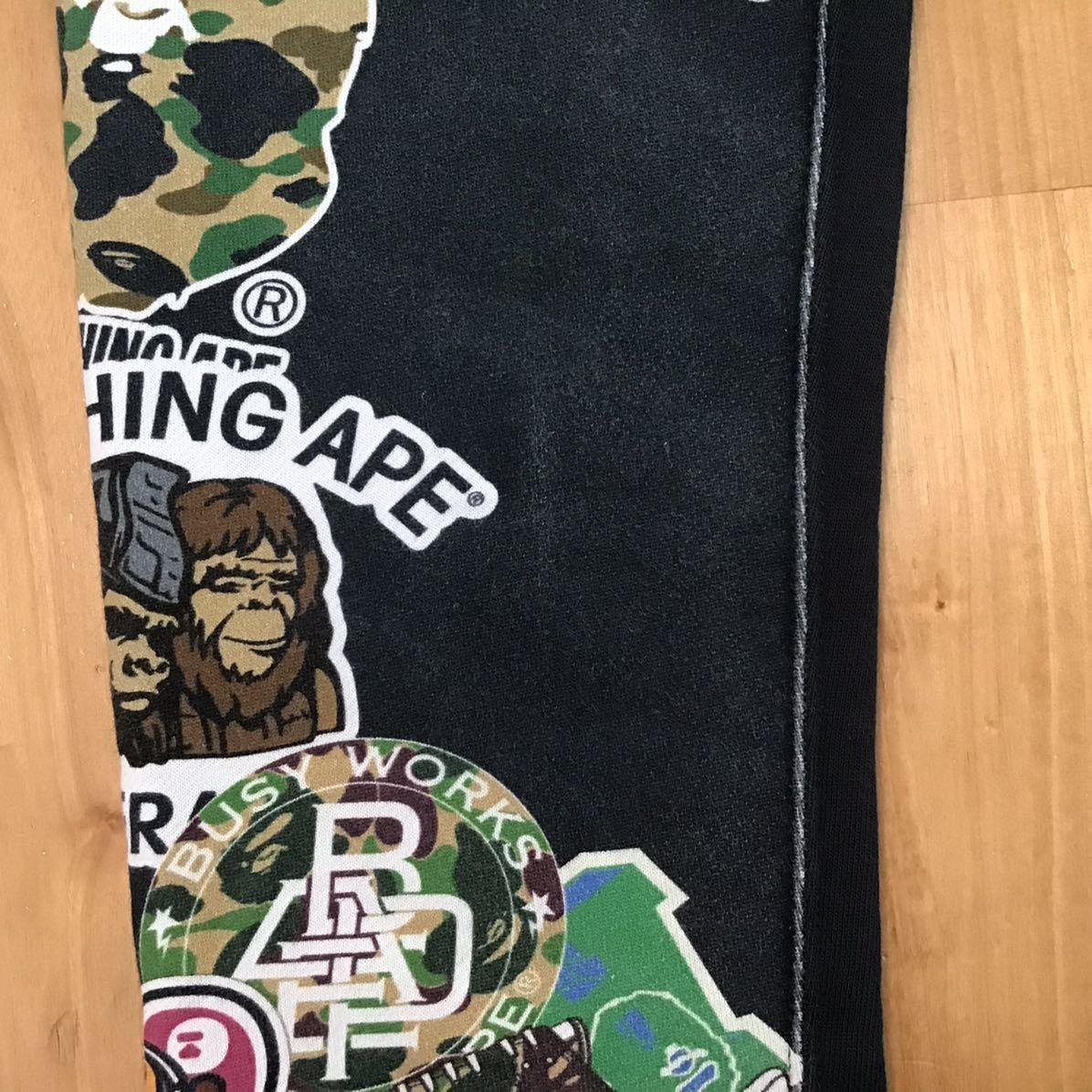 BAPE milo LOGO スウェットパンツ Sサイズ a bathing ape sweat pants エイプ ベイプ アベイシングエイプ マイロ general t852