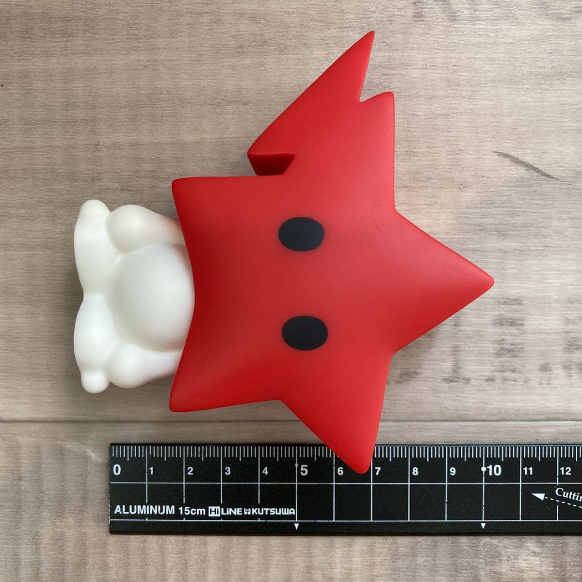 ★激レア★ bapesta フィギュア a bathing ape bape play sta エイプ ベイプ アベイシングエイプ スター star figure nigo Red 7md