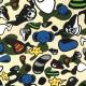 ★激レア★ kaws × milo animal kingdom 半袖 スウェット Lサイズ カウズ a bathing ape bape エイプ ベイプ アベイシングエイプ マイロ 8