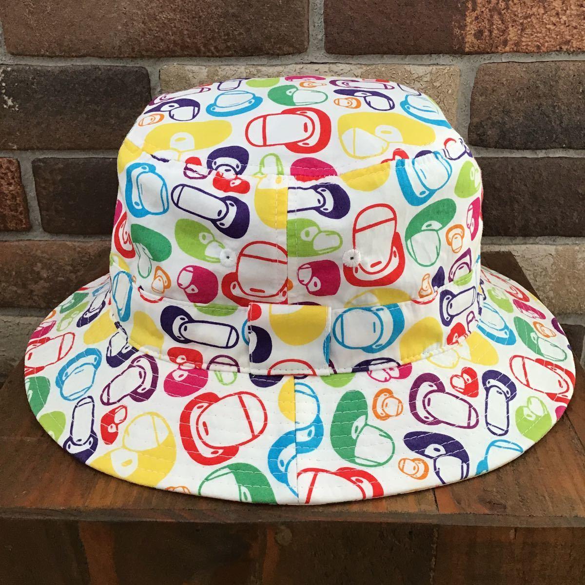 マイロ マルチカモ ハット Lサイズ a bathing ape BAPE hat エイプ ベイプ アベイシングエイプ milo multi camo 帽子 迷彩 1418