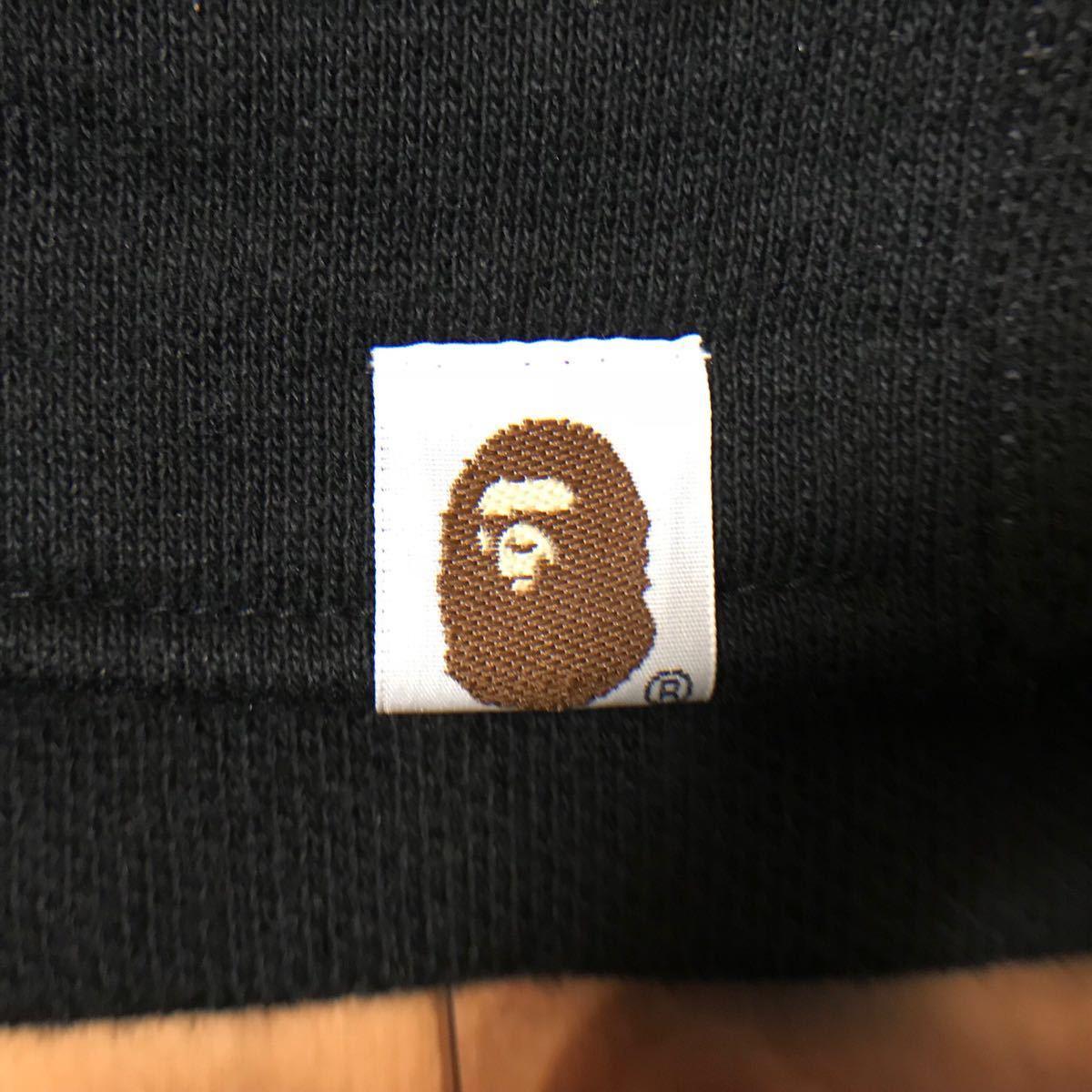 ★激レア★ stash × bape スウェット スタジャン Mサイズ a bathing ape エイプ ベイプ アベイシングエイプ スタッシュ varsity jacket