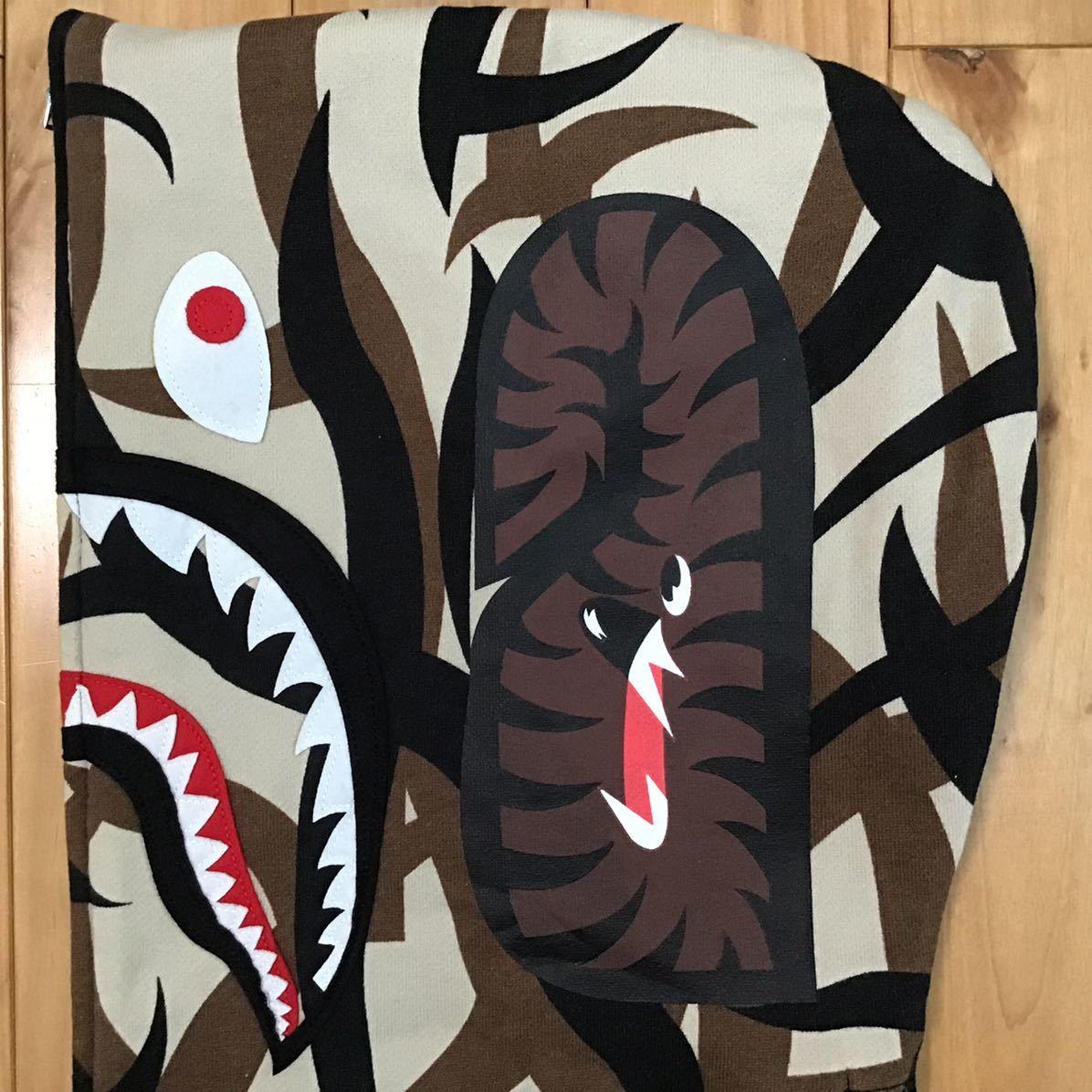 ★激レア★ NW20周年記念 tribal camo シャーク パーカー Mサイズ shark full zip hoodie a bathing ape bape エイプ ベイプ 迷彩 c75