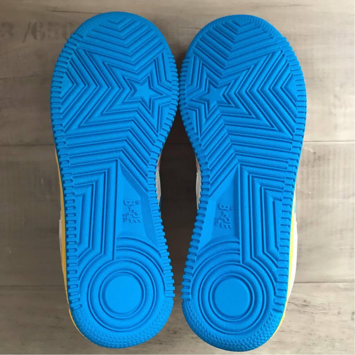 ★新品★ multi color BAPESTA 27.5cm a bathing ape BAPE STA sneakers エイプ ベイプ ベイプスタ スニーカー candy camo nigo kanye