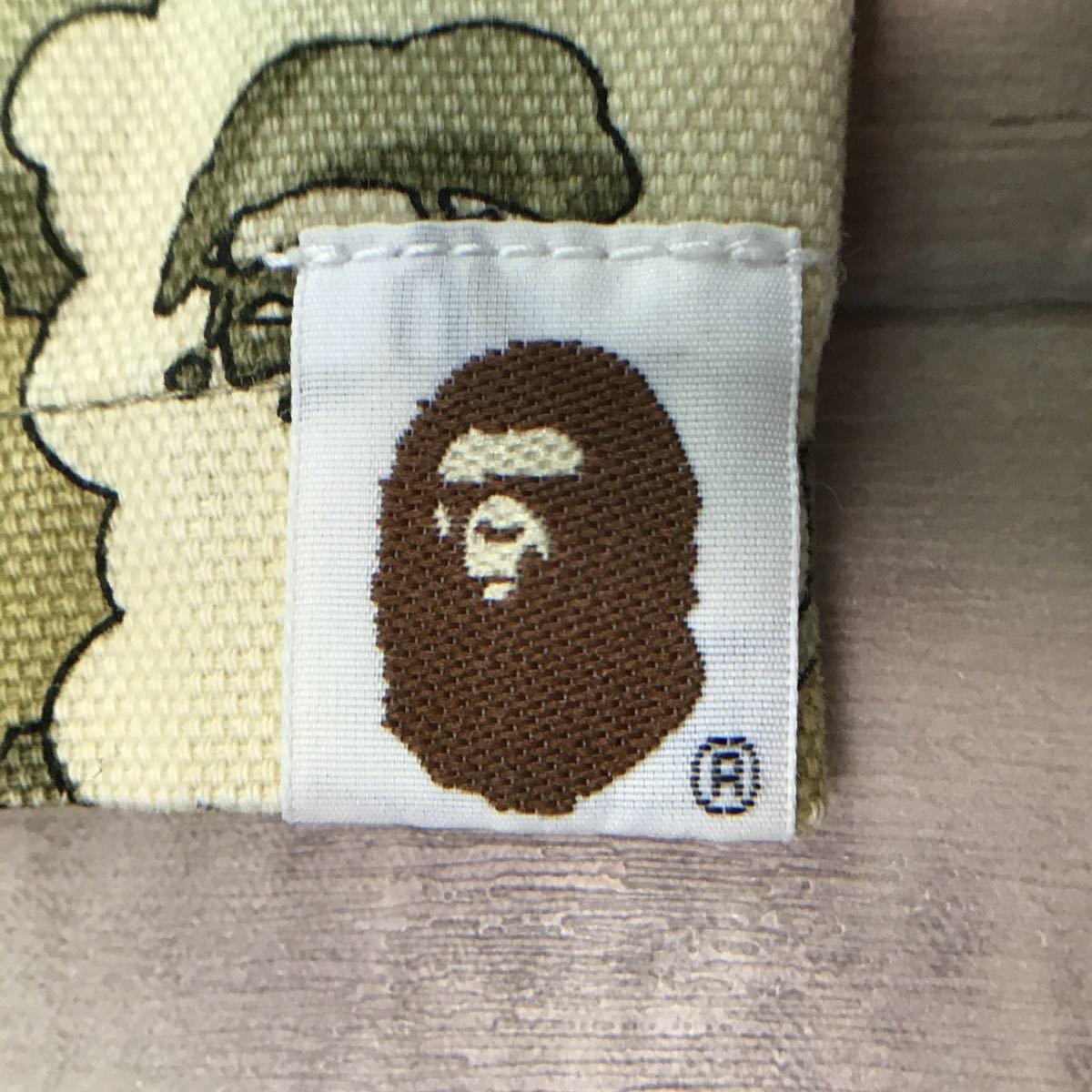 ★激レア★ kaws cloud camo ワークシャツ Lサイズ a bathing ape bape カウズ エイプ ベイプ アベイシングエイプ nigo 迷彩 vintage 7471