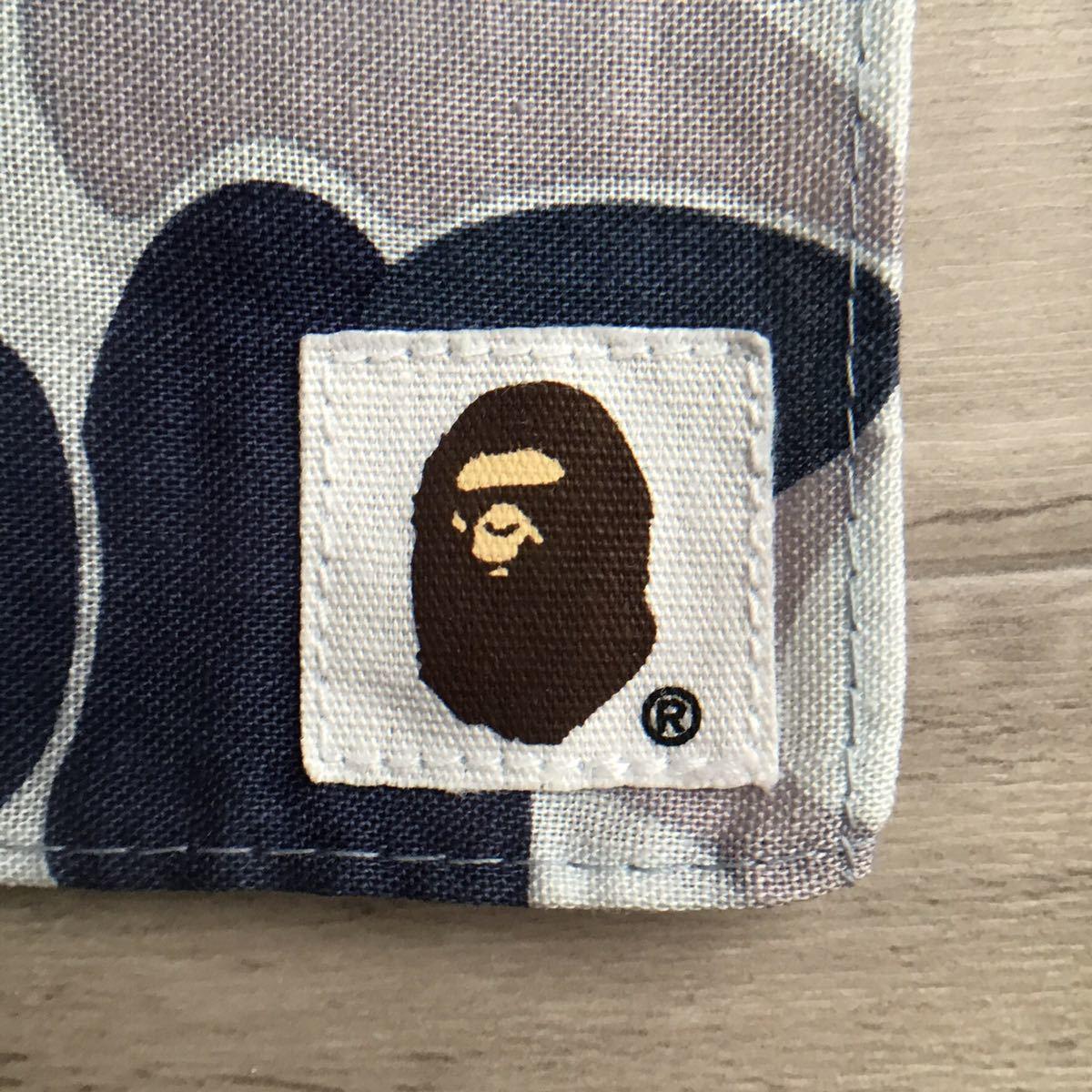 ★初期★ BAPE camo バンダナ a bathing ape エイプ ベイプ アベイシングエイプ bandana 迷彩 nigo 2000年 blue purple ハンカチ