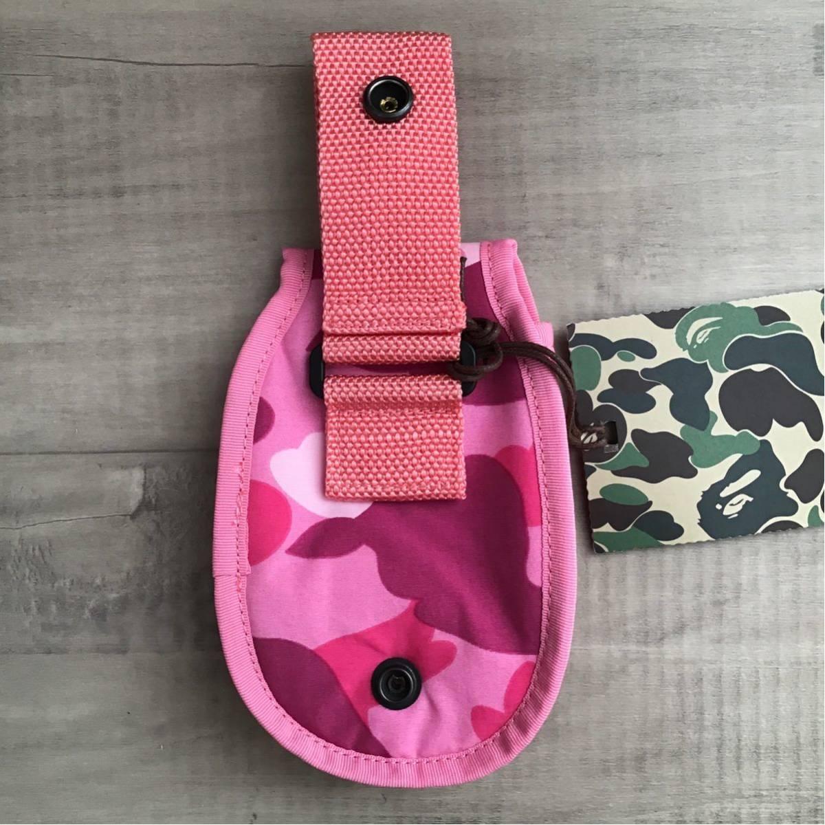 ★新品★ pink camo ポーチ a bathing ape BAPE pouch エイプ ベイプ アベイシングエイプ ピンク 迷彩 3223