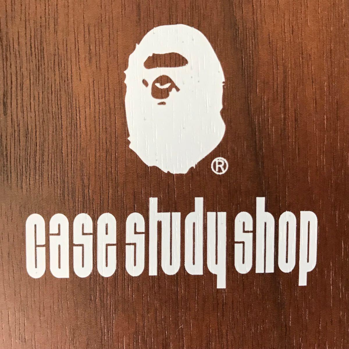★新品★ BAPE WALL CLOCK case study shop a bathing ape head 掛け時計 時計 エイプ ベイプ furniture MODERNICA wood nigo