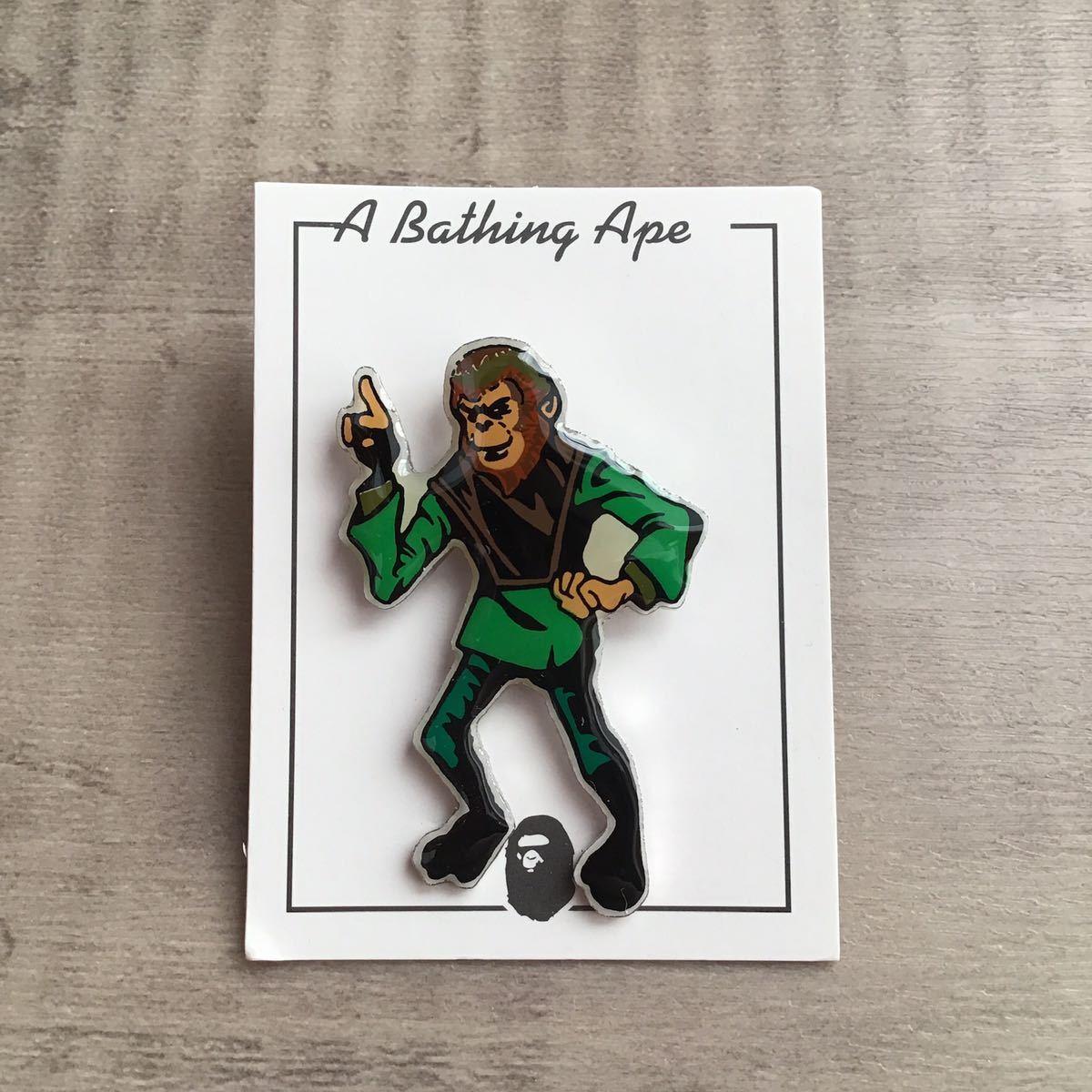 ★激レア★ 初期 ピンバッジ a bathing ape BAPE スケシン 90s エイプ ベイプ アベイシングエイプ nigo NOWHERE 裏原宿 猿の惑星 pins