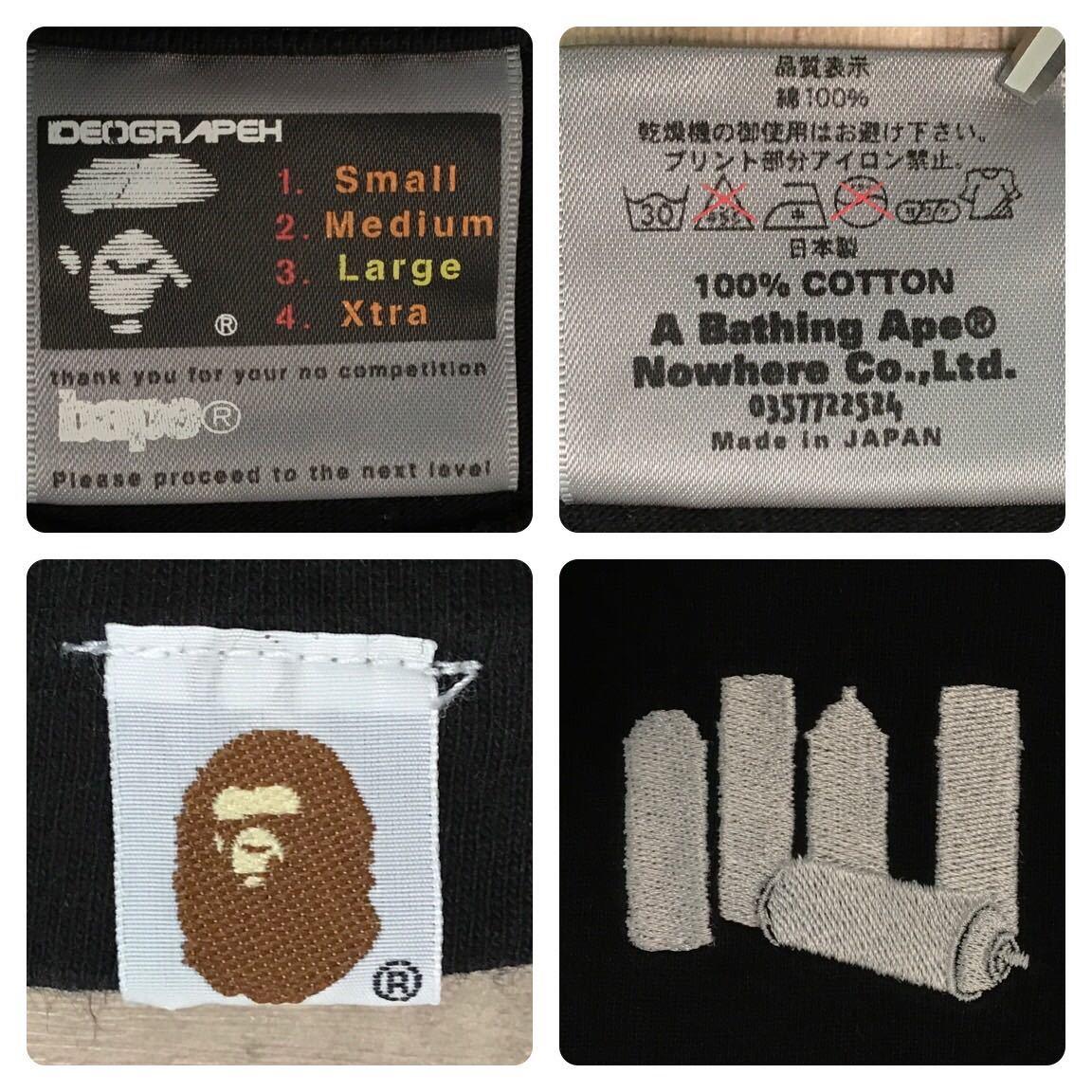 ★激レア★ 2002年 stash展 限定 Tシャツ Lサイズ bape gallery a bathing ape スタッシュ aoyama limited エイプ ベイプ スプレー nigo f3