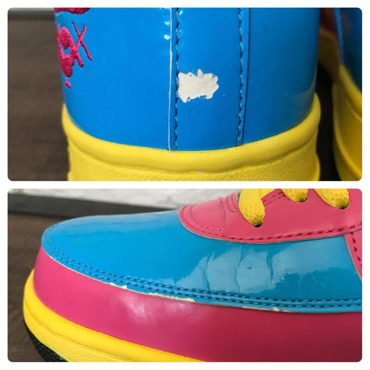 ★激レア★ KAWS BAPESTA 29cm US11 a bathing ape BAPE STA shoes sneakers カウズ エイプ ベイプ ベイプスタ スニーカー nigo