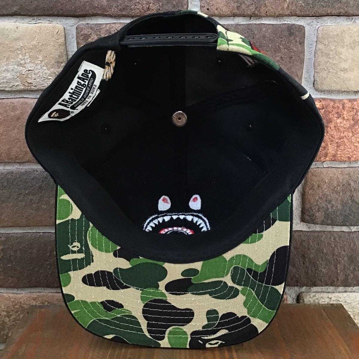 シャーク キャップ ABC camo green a bathing ape bape shark cap 帽子 WGM エイプ ベイプ アベイシングエイプ trucker hat 迷彩 2523