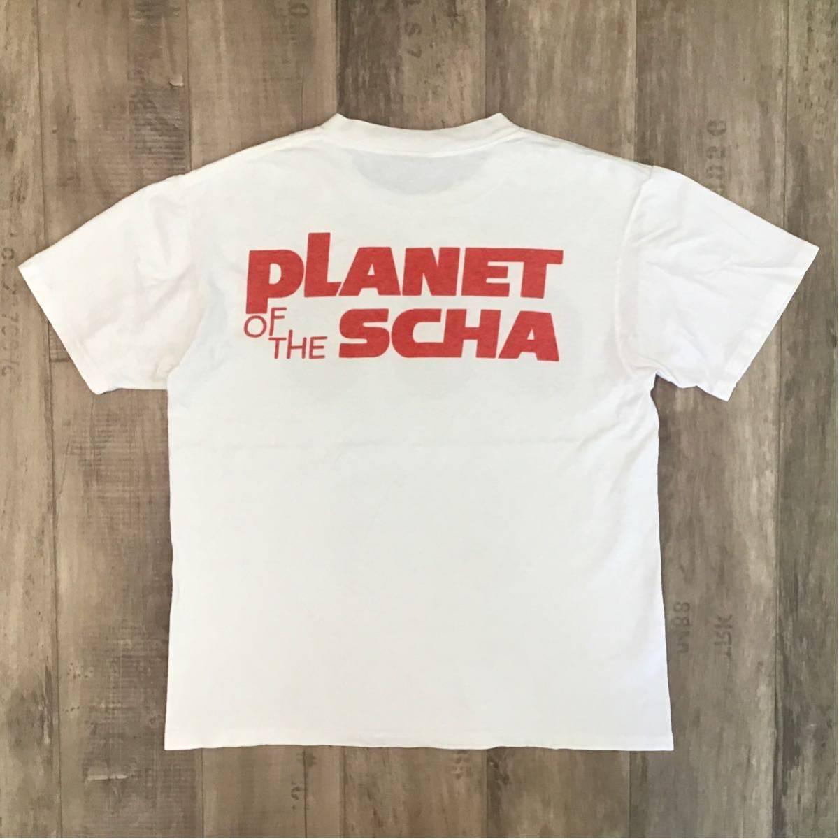 ★激レア★ スチャダラパー Planet of the scha Tシャツ Mサイズ a bathing ape bape エイプ ベイプ アベイシングエイプ nigo 90s 裏原宿