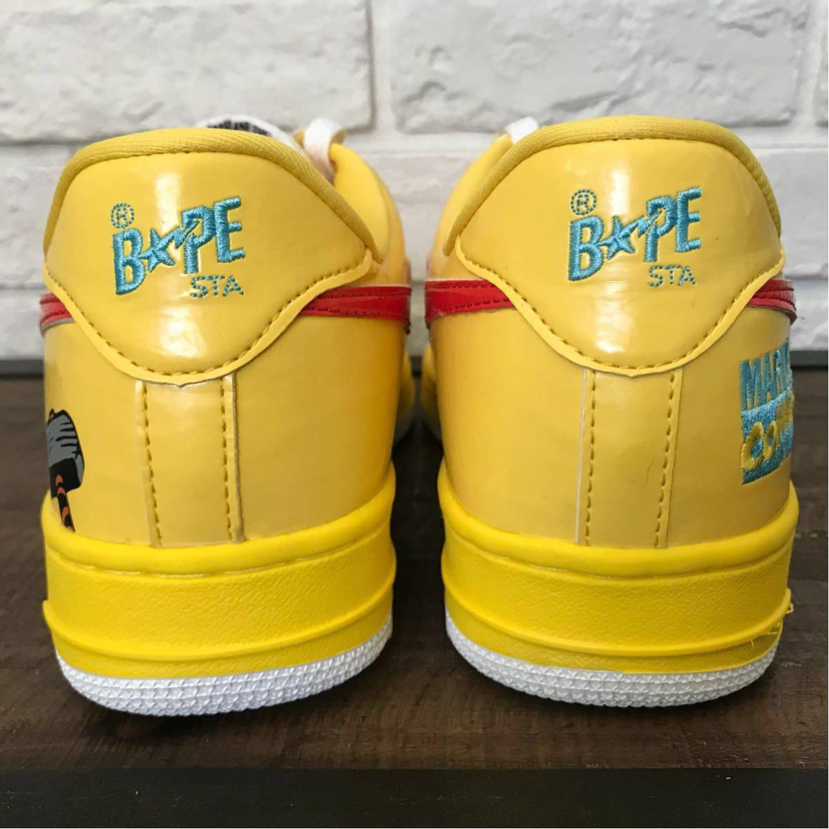 MARVEL BAPESTA THOR 27.5cm US9.5 a bathing ape BAPE STA shoes sneakers マーベル コミックス comics スニーカー エイプ ベイプ nigo