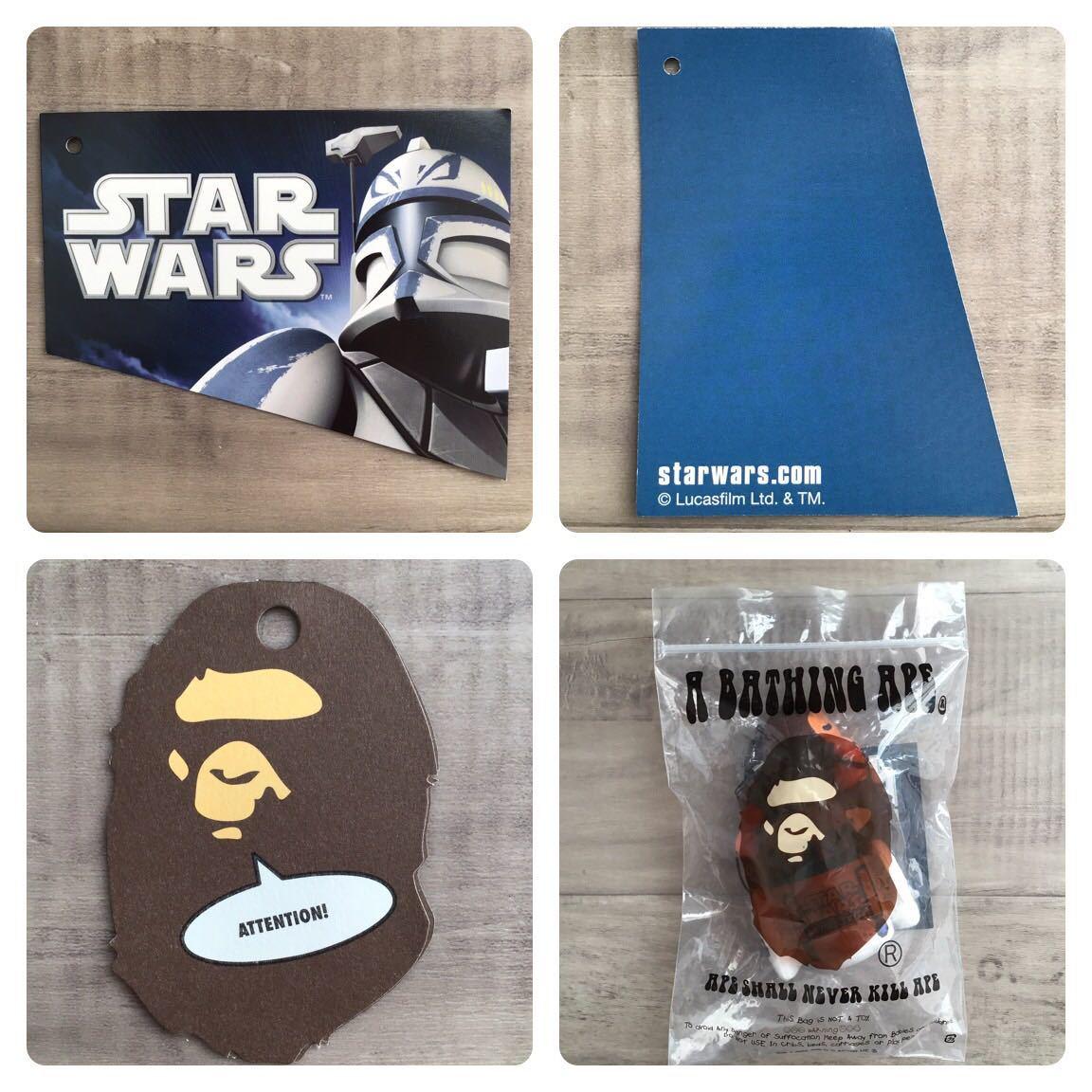 ★新品★ starwars × BAPE R2-D2 マイロ モバイルクリーナー ストラップ a bathing ape baby milo エイプ ベイプ スターウォーズ strap