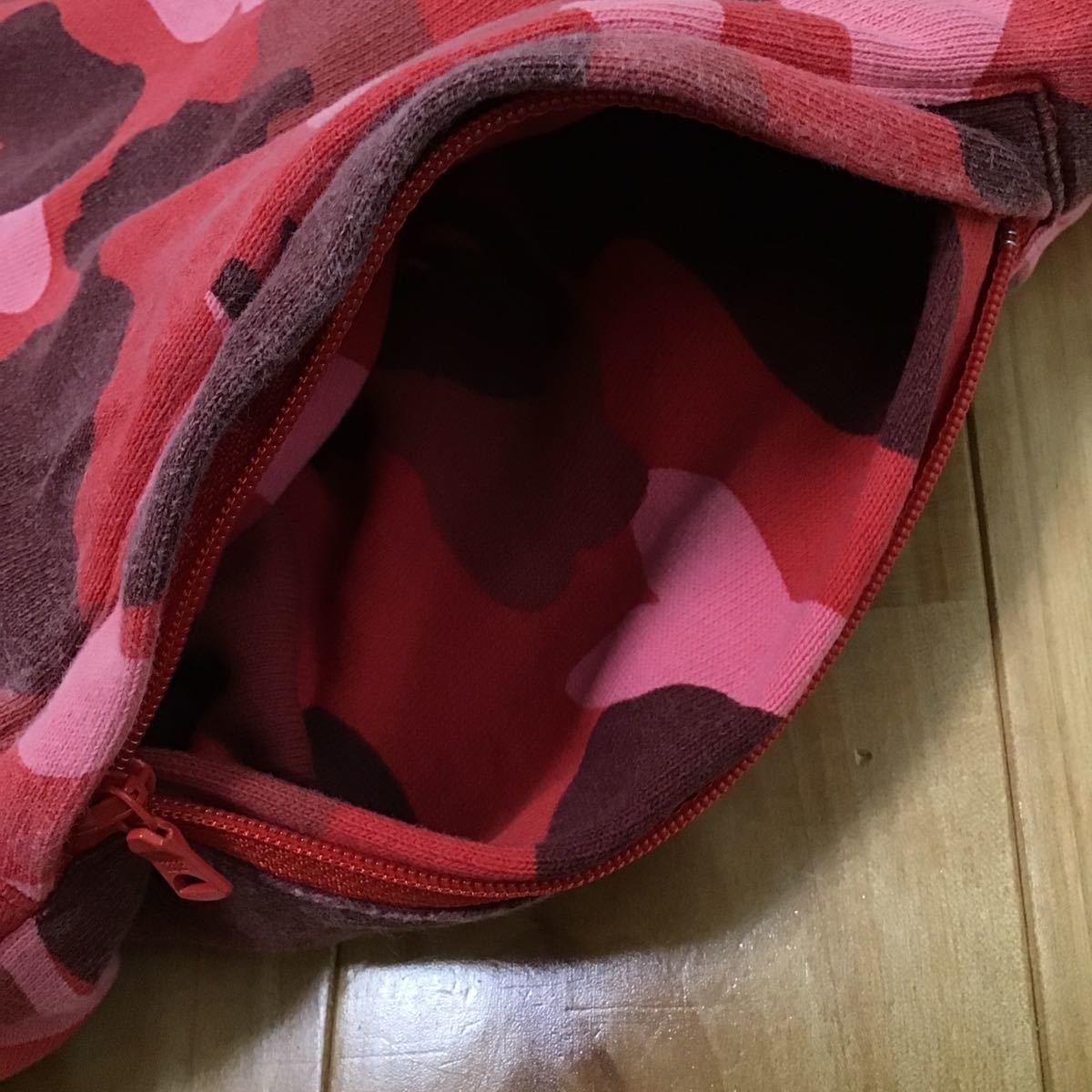 pharrell camo スウェット カーゴ ハーフパンツ Mサイズ a bathing ape BAPE shorts pants ショーツ red camo レッドカモ エイプ ベイプ 11