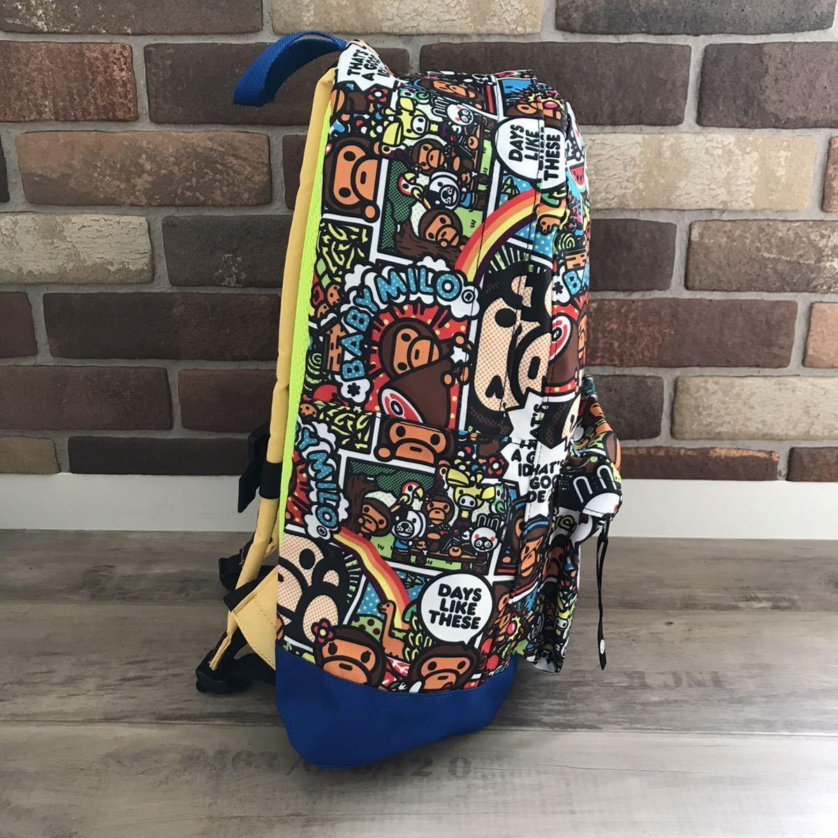 コミック マイロ バックパック a bathing ape BAPE backpack リュック エイプ ベイプ アベイシングエイプ bag baby milo