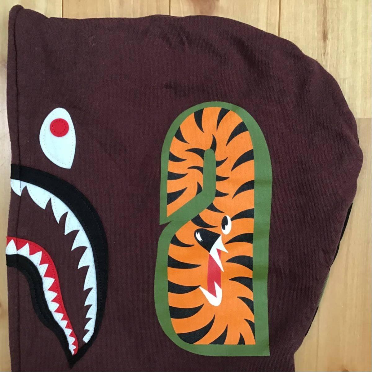 中綿キルティング シャーク パーカー Sサイズ Burgundy 1st camo shark full zip hoodie a bathing ape bape camo エイプ ベイプ WGM