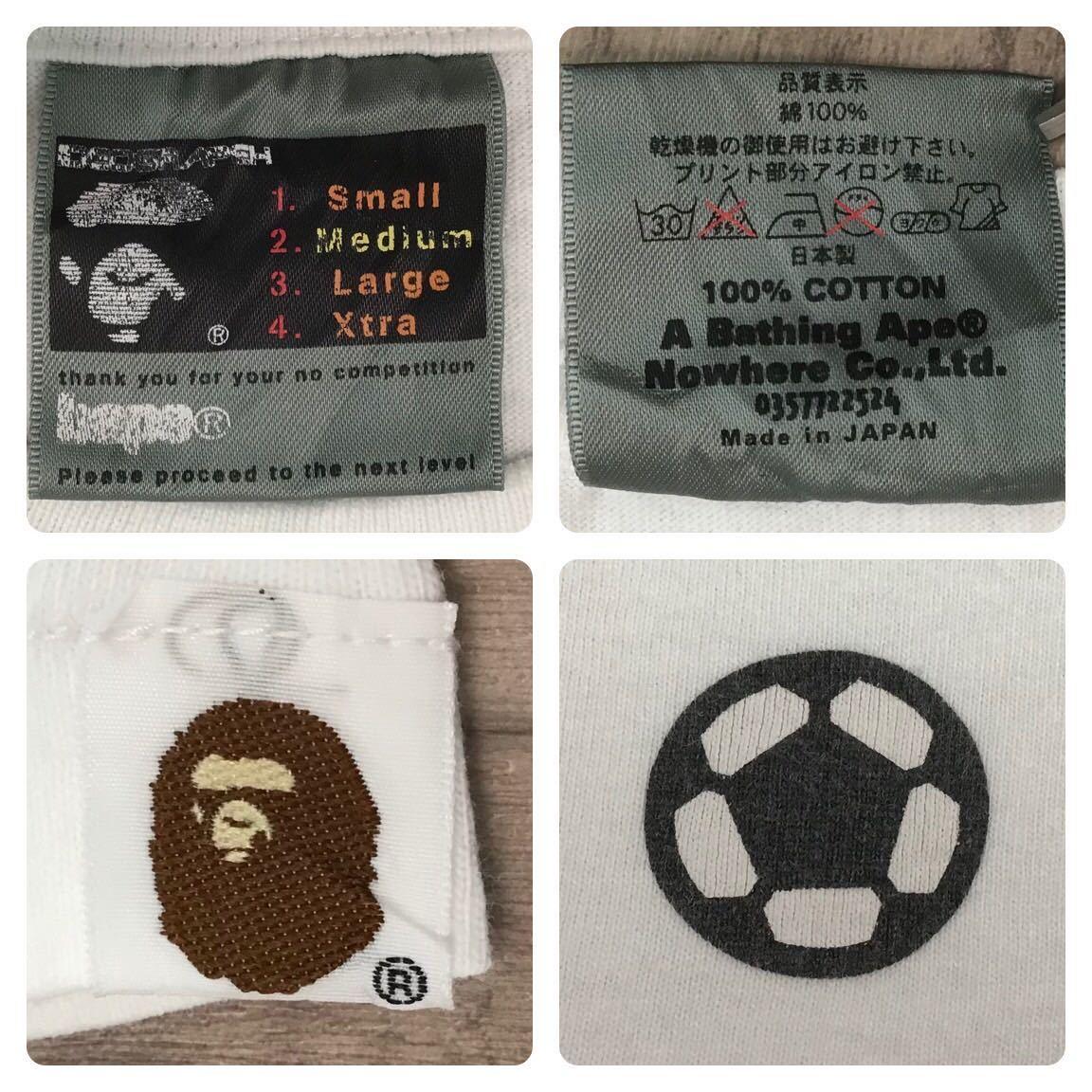 2002年 nakata.net × bape マイロ Tシャツ Mサイズ a bathing ape 中田英寿 soccer エイプ ベイプ アベイシングエイプ nigo サッカー milo
