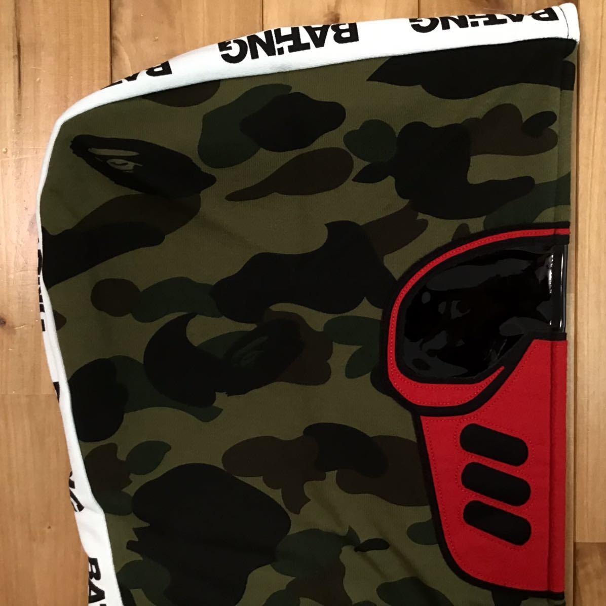 ★新品★ BMX MASK FULL ZIP HOODIE XLサイズ a bathing ape BAPE エイプ ベイプ アベイシングエイプ フルジップ パーカー 1st camo 迷彩