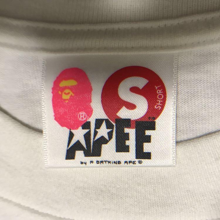 ★激レア★ kaws × bape bendy BAロゴ レディース Tシャツ shortサイズ a bathing ape カウズ エイプ ベイプ アベイシングエイプ ladies