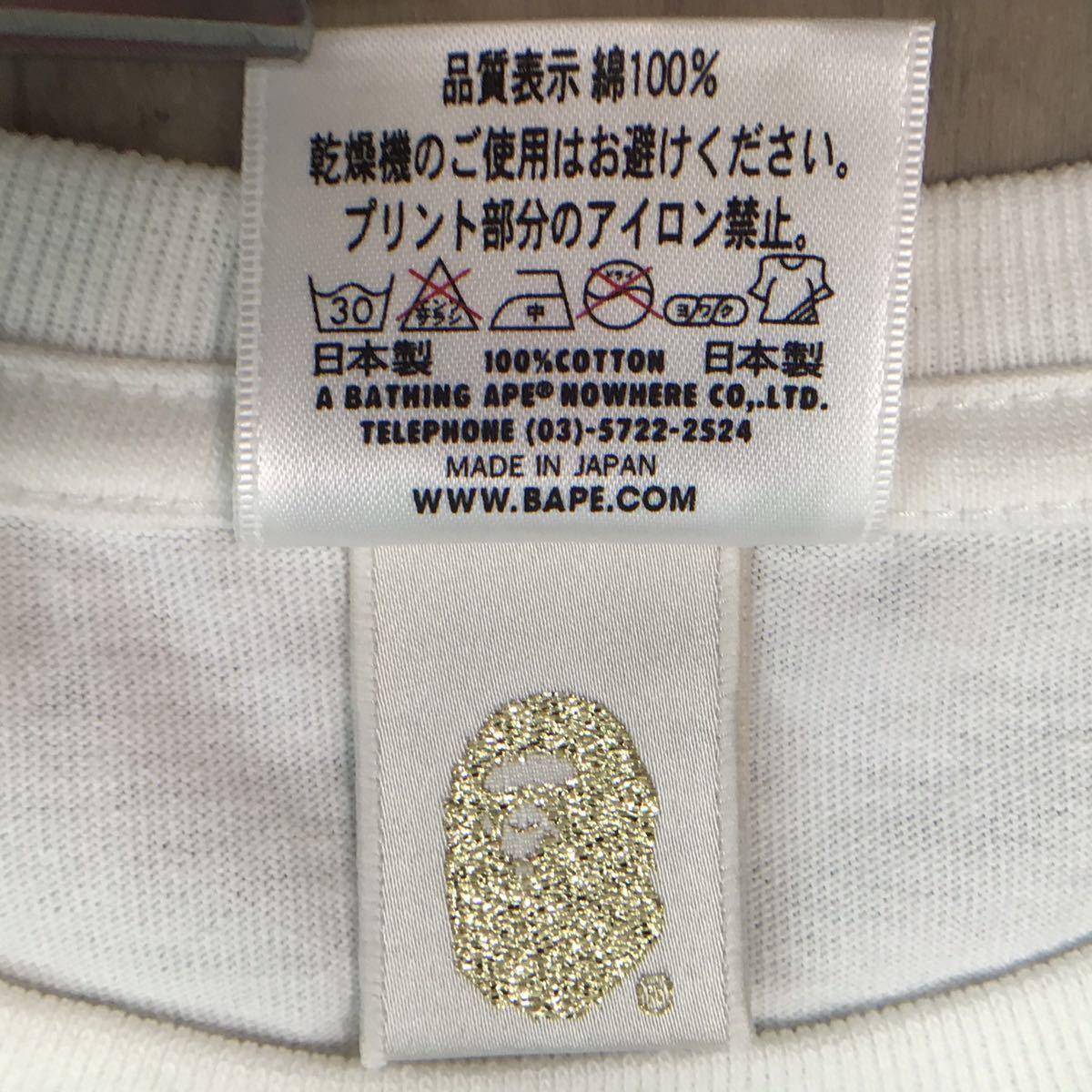 ★新品★ クロムハーツ bape レディース Tシャツ XSサイズ a bathing ape Chrome Hearts エイプ ベイプ アベイシングエイプ milo マイロ 07