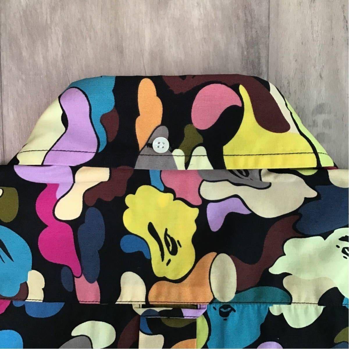 ★新品★ マルチカモ 半袖シャツ Lサイズ a bathing ape BAPE multi camo エイプ ベイプ アベイシングエイプ NIGO 迷彩 vintage ig12