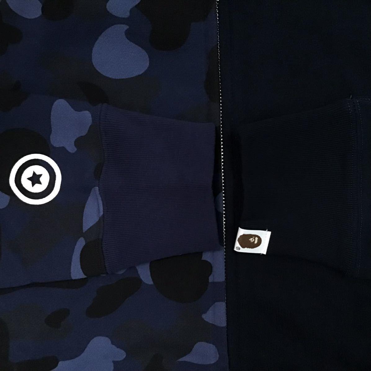 ★新品★ Ape head タイガー パーカー Lサイズ tiger full zip hoodie a bathing ape bape エイプ ベイプ アベイシングエイプ blue camo h3