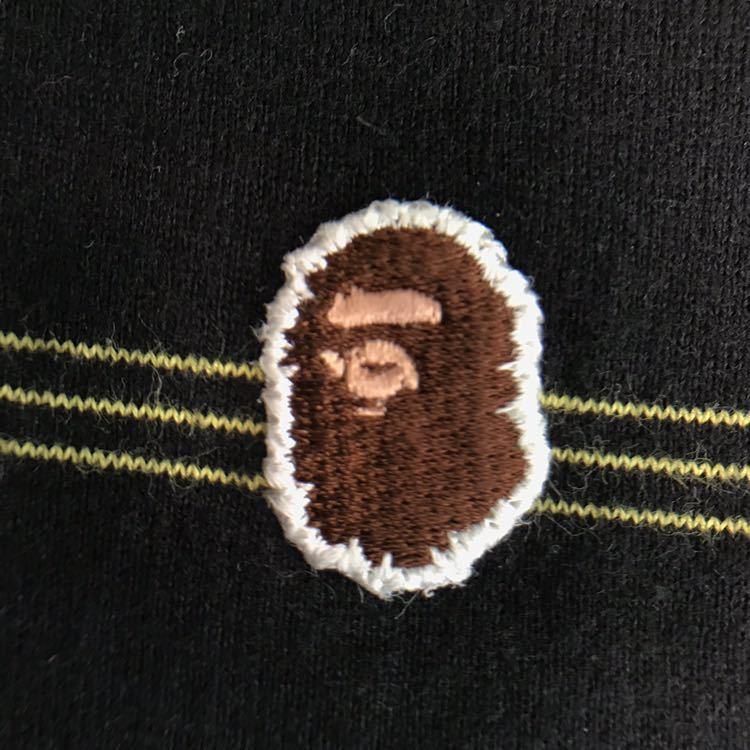 ボーダー ポロシャツ Sサイズ a bathing ape BAPE sta border エイプ ベイプ アベイシングエイプ BAPESTA star スター