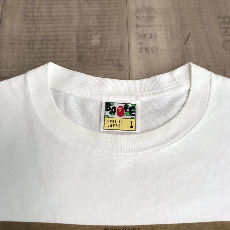 ゴールド会員 限定 Tシャツ Lサイズ a bathing ape bape mania エイプ ベイプ NFS nigo nowhere ゴールドカード gold card member limited