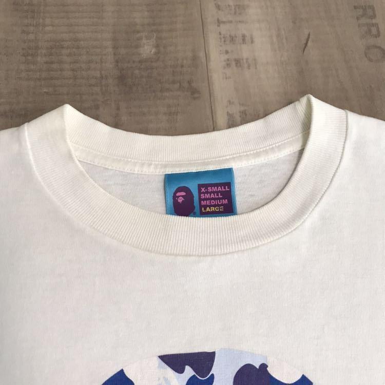 ★名古屋限定★ nagoya city limited color camo bape head Tシャツ Lサイズ a bathing ape エイプ ベイプ アベイシングエイプ 都市限定